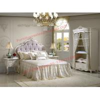 Buy cheap Exquisite Design and Workmanship for Lovely Girls Bedroom Furniture set in White Color from wholesalers