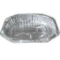 Buy cheap Aluminum Foil Container for Large Crown Oval Roaster (IUH-445) from wholesalers
