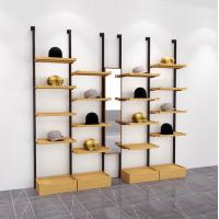Buy cheap Free Combination Wooden Display Showcase , Simple Wood Hat Display Stand from wholesalers