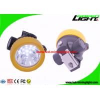 Buy cheap Wireless LED Mining Cap Lamp Yellow Color For Camping / Hunting / Fishing from wholesalers