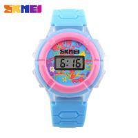 Buy cheap Colorful Cute Multifunction Digital Watch PU Resin Band For Kids from wholesalers