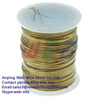 Buy cheap brass wire (Anping Manufacturer) from wholesalers