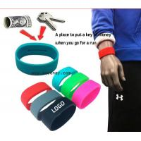 Buy cheap New design Pocket Band, The wristband with hidden pocket from wholesalers