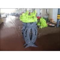 Brake Motor Hydraulic Log Grapple , Komatsu PC60 Log Grab For Excavator