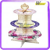 Buy cheap 3 Tier Cardboard Cupcake Stand from wholesalers