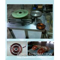 Buy cheap Copper wire and Aluminum wire coils winding machine for induction cooker manufacuring from wholesalers