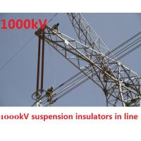 Grey 1000kV High Voltage Insulator ANSI Professional For Electric Tower