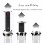 Buy cheap Desk Motorized Pop Up Socket ,  Vertical Motorised Pop Up Electrical Plug Socket Reliable from wholesalers