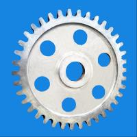 Buy cheap Carbon Steel Forged Large Diameter Sprocket Gear Wheel For Power Plant from wholesalers