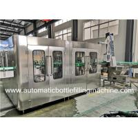 Buy cheap Carbonated Soft Drink Glass Bottle Filling Machine Production Line Fully Automatic from wholesalers