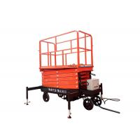 Buy cheap Self Propelled Hydraulic Mobile Scissor Lift Table With Lifting Height 3 - 16m from wholesalers