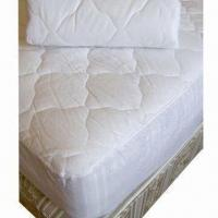Buy cheap Ultrasonic Wave Quilted Water-resistant Mattress Protector/Cover with Nonwoven Fabric Back from wholesalers
