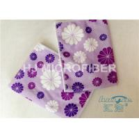 Buy cheap Promotional Printed Microfiber Washcloth Clothing Towel , Window Cleaning Cloths from wholesalers