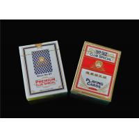 Buy cheap Custom Print Poker Playing Cards , Classic Animated Poker Card Sets from wholesalers