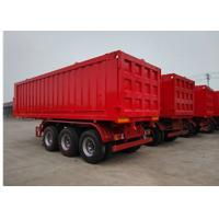 Buy cheap 25CBM Dump Truck Trailer 3 Axle 45 Ton Dump Tipper Semi Trailer Truck For Sand from wholesalers
