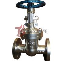 Buy cheap Manual Operated Pn16 Bolted Bonnet Gate Valve Backseat Design RF / BW product