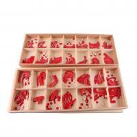 Buy cheap Wood - Large Movable Alphabet (Red & Blue) from wholesalers