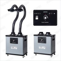 200 W F6002 Benchtop Fume Extractor For Soldering , Noise Reduction Design