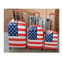 Buy cheap 4 Wheel PC Luggage Suitcase Bag Set Normal Combination Locked Hard Case from wholesalers