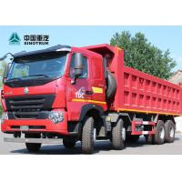 Buy cheap Sinotruk Howo A7 Euro 2 8x4 Dump Truck Heavy Duty 30cbm 50 Tons Payload from wholesalers