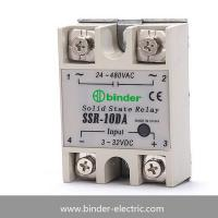 Buy cheap Single phase DC to AC solid state relay SSR-10DA,SSR-25DA,SSR-40DA,SSR-90DA,SSR-100DA from wholesalers