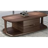 Buy cheap 2017 New Walnut Wood Case Good Furniture Design Living room Coffee table& Tea table with Storage side Drawers from wholesalers