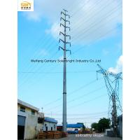 Buy cheap transmission line steel pole from wholesalers