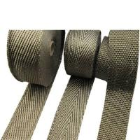 Buy cheap titanium exhaust header wrap made in china from wholesalers