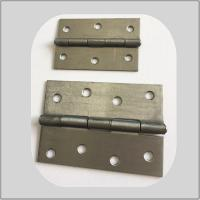 Buy cheap Metal Butt Heavy Duty Metal Door Hinges 3.0mm Thickness Strong Courraged Box Packing from wholesalers