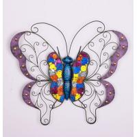 Buy cheap IRON BUTTERFLY  DECORATIVE WALL & CREATIVE MODERN ART WALL from wholesalers