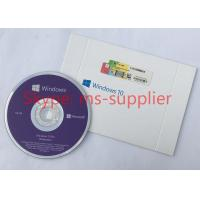 Buy cheap Geniune OEM DVD&USB Microsoft Windows 10 Operating System Pro Product Key 100% Activation online from wholesalers