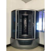 Buy cheap ABS Material steam double shower cabin with tray ,  150 X 150 X 220 / cm complete shower cabins from wholesalers