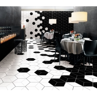 Buy cheap Hexagon 260x300mm Decorative Ceramic Tile for Floor Wall from wholesalers