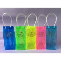 Buy cheap Eco Friendly Promotional PVC Wine Bag , Colorful Printing PVC Wine Cooler Bag from wholesalers