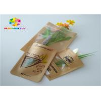 Buy cheap Clear Window Customized Paper Bags Recycled Brown Kraft Paper For Shopping from wholesalers