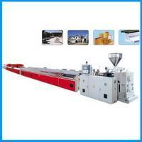 Buy cheap PVC wood Profile Production Line/PVC wood Profile Extrusion Line/WPC extruder from wholesalers