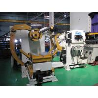 Buy cheap Leveling Sheet Metal Decoiler Machine Stamping Processing CNC Coil Handling Equipment from wholesalers