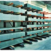 Buy cheap Single Double Sided Cantilever Racking System For Steel / Wood Planks from wholesalers