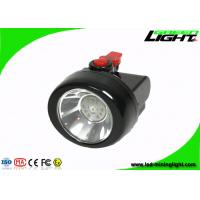 Buy cheap Msha Approved Black Cordless Mining Lights , Smallest Miner Headlamp with 15 Hours Working Lighting Time from wholesalers