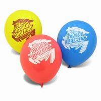 Buy cheap Latex Balloon, Used for Party Decoration or Advertising Purposes product
