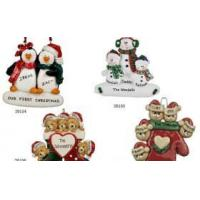 Buy cheap Resin personalized Christmas ornaments gifts from wholesalers