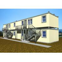 Buy cheap Double Deck Villa Large Container Homes Easy Installation With All Facilities from wholesalers
