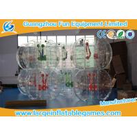 Buy cheap Clear Soccer Bubble Inflatable Hamster Ball 1.2m / 1.5m Dia For Rental product