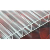 Buy cheap Transparent Skylight Commercial Greenhouse Polycarbonate Hollow Sheet Uv Coated from wholesalers