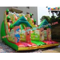 Buy cheap Kids Outdoor Large Inflatable Commercial Inflatable Dry Slide  for rent, home use product