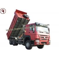 Buy cheap Super 6x4 Tipper Truck For Mining Work , Transfer Dump Truck Low Fuel Consumption from wholesalers