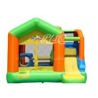 Buy cheap Home Use Inflatable Bouncy Castle With Slide High Tear Strength from wholesalers