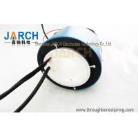 Buy cheap Through Bore Electrical Slip Ring For Heating Roller Machinery , 2 Circiuts 50A from wholesalers