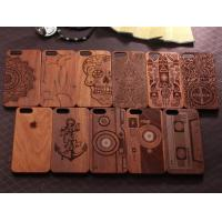 Buy cheap Natural Texture Wood Cell Phone Case , Anti - Static Cool Wood Phone Cases product