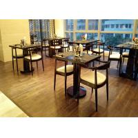 Buy cheap 4 Star 5 Star Wooden Modern Restaurant Tables , Antique Style Commercial Cafe Furniture from wholesalers